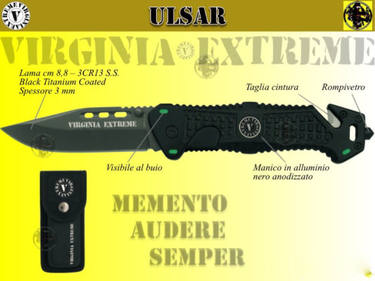 Coltello tattico - Ulsar virginia Extreme